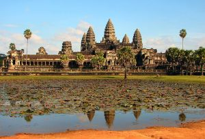 One of the points in my bucket list is to go to Angkor Wat in Cambodia.
